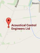 Acoustical Control Location on Map