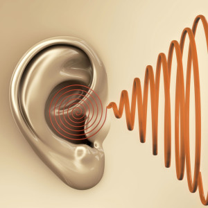 ear listening to sound